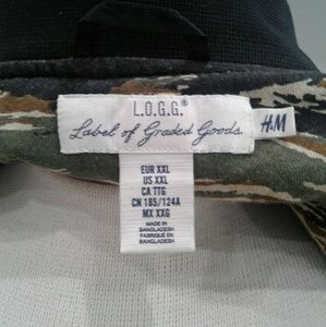 H&M Jackets & Coats - H&M Black Jacket